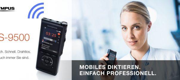 DS-9500 Diktiergerät